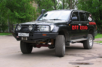 Тюнинг Toyota Land Cruiser 105